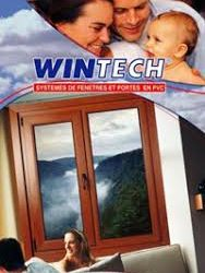 درب پنجره دو جداره upvc wintch جویبار