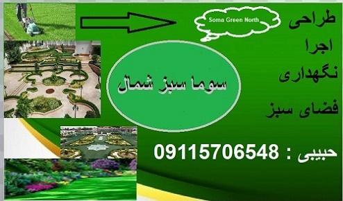 ایجاد و نگهداری فضای سبز محمودآباد