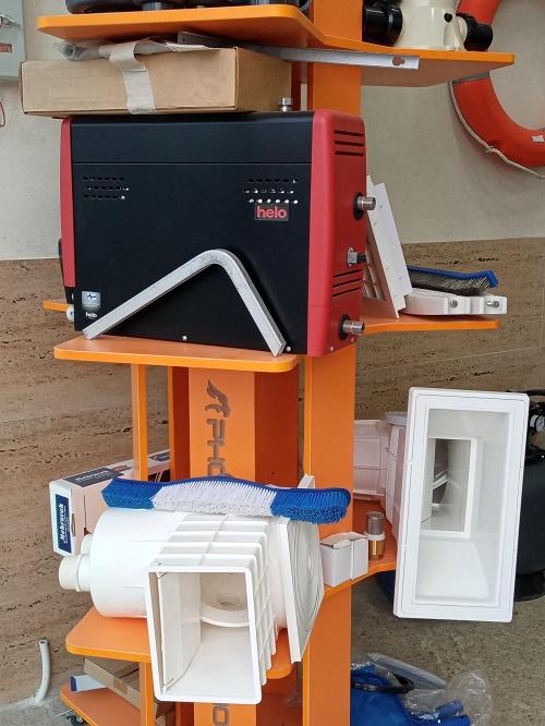 لوازم و تجهیزات جانبی استخر سرخرود