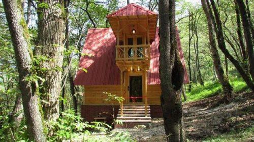 اجاره کلبه چوبی در جنگل